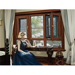 铝木复合门窗厂家|杭州铝木复合门窗|新欧木窗口碑好(查看)图片