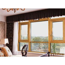 铝木门窗厂-新欧木铝复合门窗-铝木门窗图片