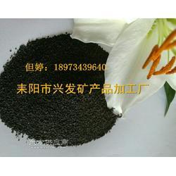 锰砂滤料,净水过滤用锰砂滤料,高含量30以上锰砂滤料图片