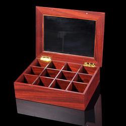 上海木制茶叶礼盒-木制茶叶礼盒定制-智合木业图片