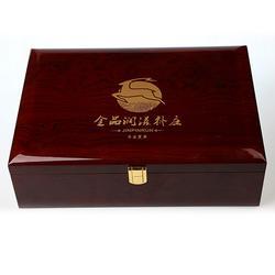 木制保健品盒生产厂家-智合木业(在线咨询)江苏木制保健品盒图片