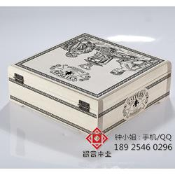 普洱木盒-智合,木质茶叶包装盒-普洱木盒制造厂家图片