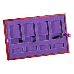 实木皮实木象棋盒、实木象棋盒制造商、智合、木制奥运纪念币盒图片