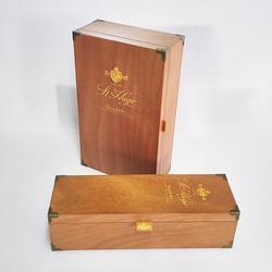 木制酒盒包装、智合木业、木酒盒包装厂、丝印木制酒盒图片