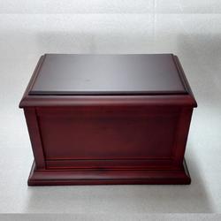 佛山木制骨灰盒-定制木盒,智合-木制骨灰盒厂家图片