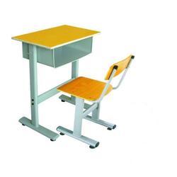 朗哥家具中学课桌椅单人课桌椅标准课桌椅厂家定制图片