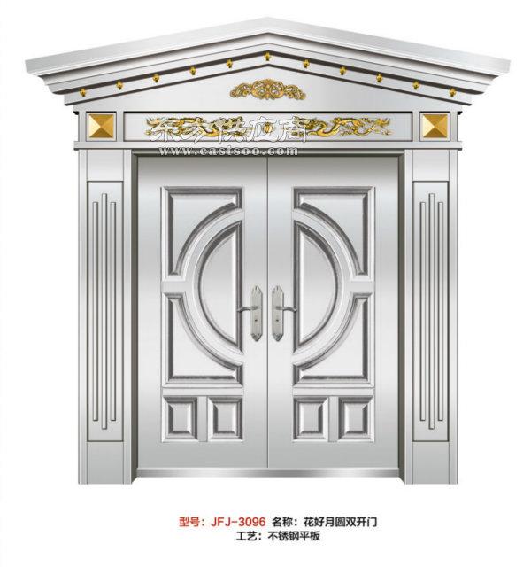潜江非标门,家福郡门业专业造门,不锈钢非标门图片