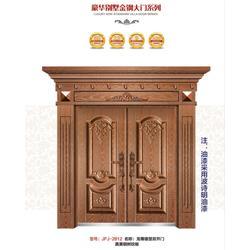 郑州锌合金门-家福郡门业专业造门-锌合金门锁厂家图片