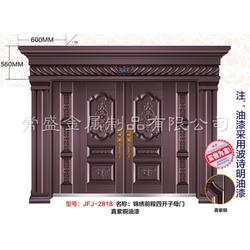 紫铜门现行价-家福郡门业专业造门-玉山铜门图片