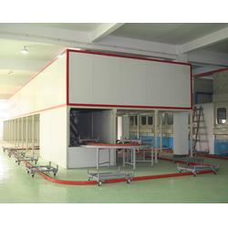 金刚网喷粉设备-济南喷粉设备-特固自动喷粉设备公司图片