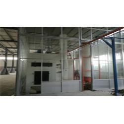 铝艺护栏喷塑生产线-陇南喷塑设备-特固静电喷塑设备生产厂图片