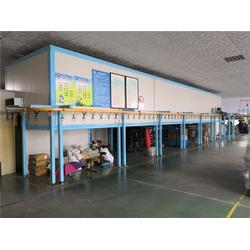 铁架床喷粉设备-贺兰喷漆设备-特固自动静电喷漆设备图片