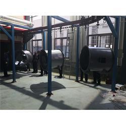 垃圾桶喷粉设备-特固全自动喷粉设备-建始喷粉设备图片