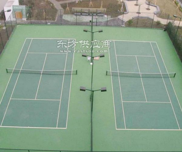 奥鑫双丰塑胶跑道施工(图)|北京网球场地施工|网球场地施工图片