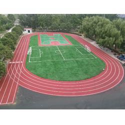 天津塑胶跑道修建、奥鑫双丰(在线咨询)、塑胶跑道修建图片