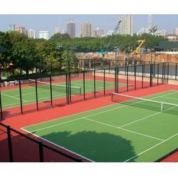 网球场地铺设|奥鑫双丰|网球场地图片