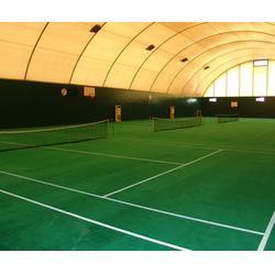 网球场地施工公司、网球场施工、奥鑫双丰塑胶跑道施工图片