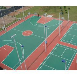 网球场施工队、奥鑫双丰体育设施、张家口网球场施工图片