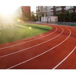 运动场塑胶跑道维修、塑胶跑道维修、奥鑫双丰施工公司图片