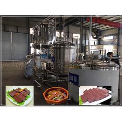 散装猪血加工设备-猪血设备-生产猪血豆腐设备图片