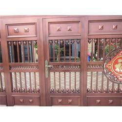 金山区庭院大门(朗豫金属)上海新款庭院大门图片