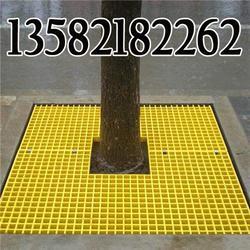 专业生产黄色树脂树池盖板图片