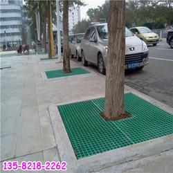 玻璃鋼格柵護樹蓋板現貨供應,道路建設護樹網格板圖片