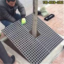 树脂树坑格板,专业定做黄色道路水篦子图片