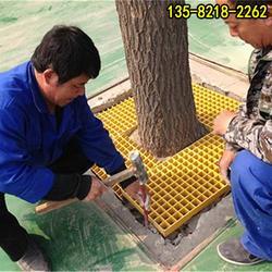 树脂篦子盖板经销商,吉首耐腐蚀护树板图片