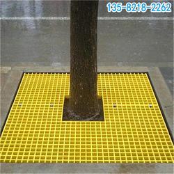 玻璃钢格栅护树盖板规格型号,树篦子板生产厂家图片