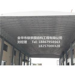杭州电动推拉棚_【绿景】免费上门安装_电动推拉棚公司图片