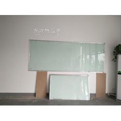 钢化玻璃白板 浅绿色磁性白板 绿板 黑板定制图片