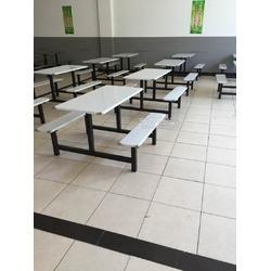 食堂餐桌椅供应 四人位餐桌定制出售,送货上门图片