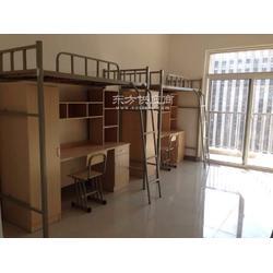 公寓床厂家定做 上铺下柜 宿舍床 工地床出售图片