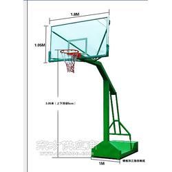 钢制篮球架 移动篮球架现货供应送货安装图片