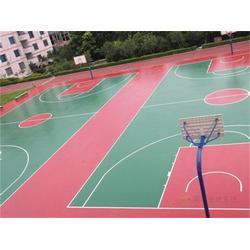 硅pu篮球场厂家_阳光体育(在线咨询)_硅pu篮球场图片
