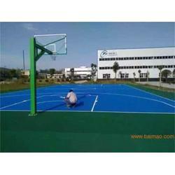 硅pu篮球场 天津硅PU篮球场 阳光体育(优质商家)图片