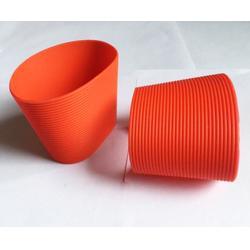 隔】热硅胶杯套,硅胶杯套,鑫明橡胶图片