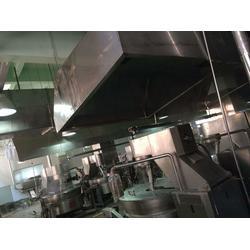 尚湖镇油烟管道安装|宗泰通风设备公司|餐厅厨房油烟管道安装图片