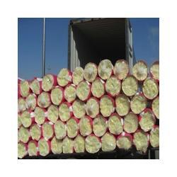 玻璃棉管、机制玻璃棉管壳、池州玻璃棉管图片