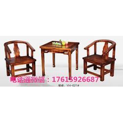 防腐木凉亭 花旗松碳化木实木餐桌椅橡木餐桌椅厂家直销图片