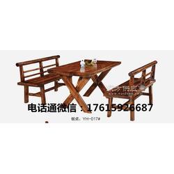 供应中式简约桌火烧木优质餐桌,碳烧桌子厂家直销图片