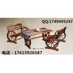 厂家直销实木家具-防腐木餐厅家具///市场/尺寸图片