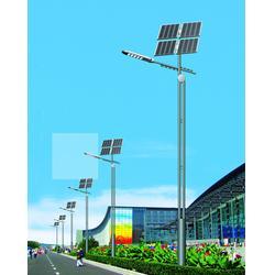 太阳能路灯_天煌照明 城市照明_太阳能路灯电池图片
