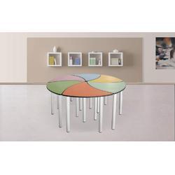 拼装六角桌多产品多色彩可选图片