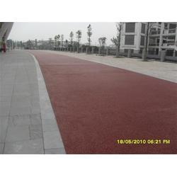 广西彩色混泥土,天津炬实科技公司,彩色混泥土施工图片