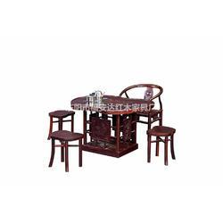 印尼黑酸枝茶桌-东阳福安达红木家具厂-印尼黑酸枝图片