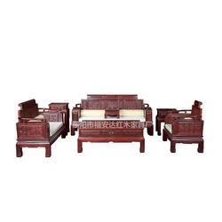 印尼黑酸枝沙发-印尼黑酸枝-东阳福安达红木家具厂图片