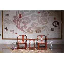 缅甸花梨木圈椅、缅甸花梨木、东阳福安达红木家具厂图片