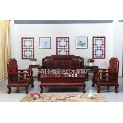 印尼阔叶黄檀沙发_东阳福安达红木家具厂_印尼黑酸枝图片